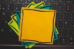 Projekta biznesu Pusty szablon odizolowywał Minimalistycznego graficznego układu szablon dla reklamowego Wieloskładnikowego colou zdjęcie royalty free