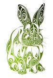 projekta Easter królika tatuaż ilustracji
