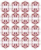 Projekta egzota ornamenty na białych aztekach Zdjęcie Royalty Free