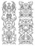 projekta elementów kwiecisty wektor royalty ilustracja