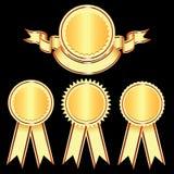 projekta elementów logów medale Zdjęcie Stock
