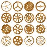 projekta elementów przekładnie ustawiający wektorowy zegarek Zdjęcia Royalty Free