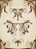 projekta elementów rocznik Obraz Royalty Free