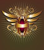 projekta elementów skrzydło Zdjęcia Royalty Free