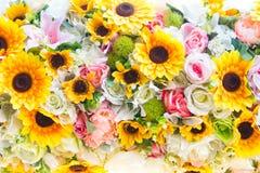 projekta elementu kwiatów tekstura Obraz Royalty Free