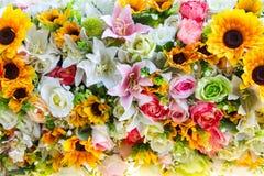 projekta elementu kwiatów tekstura Fotografia Royalty Free