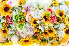 projekta elementu kwiatów tekstura Zdjęcia Royalty Free