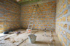 projekta elementu naprawy pokój Fotografia Royalty Free
