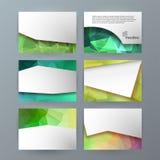 Projekta elementu Powerpoint precentation szablonu horyzontalny banne ilustracja wektor