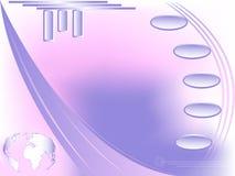 projekta futurystyczna kuli ziemskiej sieć ilustracji