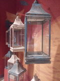 projekta grunge lampy oleju stary pocztówkowy retro styl Zdjęcia Stock