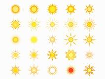 projekta ikon słońca okulary przeciwsłoneczne twój Zdjęcia Royalty Free