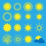 projekta ikon słońca okulary przeciwsłoneczne twój Obrazy Royalty Free