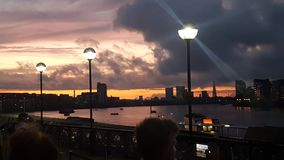 projekta ilustracyjna London linia horyzontu ty Zdjęcie Stock