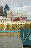projekta ilustracyjna London linia horyzontu ty Obrazy Royalty Free