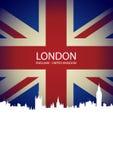 projekta ilustracyjna London linia horyzontu ty Obraz Stock
