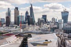 projekta ilustracyjna London linia horyzontu ty Obrazy Stock