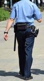projekta ilustracyjna oficera policja ty Zdjęcia Stock