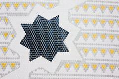 projekta islamski geometryczny Fotografia Royalty Free