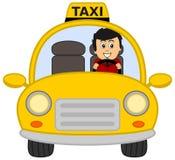 projekta kierowcy ilustracyjny taxi ty Zdjęcie Stock