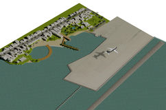 projekta krajobraz ilustracji