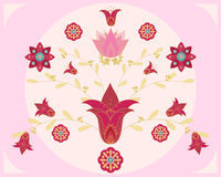 projekta kwiatu hindus Zdjęcia Stock