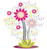 projekta kwiatu logo Fotografia Stock
