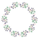 projekta kwiatu rama twój zdjęcia stock