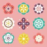 projekta kwiatu wektor Obraz Stock
