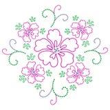 projekta kwiatu wektor Obraz Royalty Free