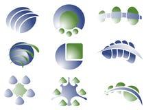Projekta loga elementy ilustracji