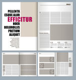 Projekta magazyn ilustracja wektor