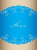 projekta menu restauracja Zdjęcia Stock