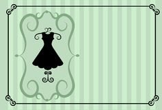 projekta mody retro sklepowy szablon Zdjęcie Stock
