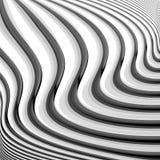 Projekta monochromatyczny falowanie wykłada tło Zdjęcie Stock