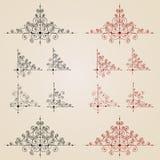 projekta monogramów rocznik Zdjęcia Stock