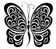 projekta motyli tatuaż ilustracji