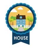 projekta nieruchomości domu reala sprzedaż Zdjęcia Royalty Free