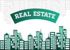 projekta nieruchomości domu reala sprzedaż Obrazy Royalty Free