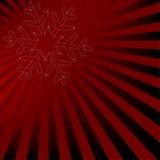 projekta płatek śniegu Zdjęcie Royalty Free