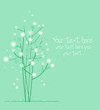 projekta piękny drzewo royalty ilustracja