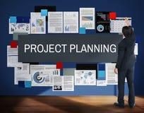 Projekta planowania pomysłów Ewidencyjny Wyjaśnia pojęcie Zdjęcia Stock