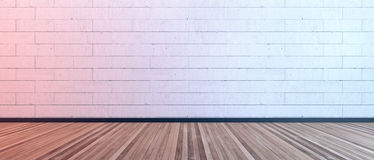 projekta pokój pusty wewnętrzny nowożytny Zdjęcia Stock