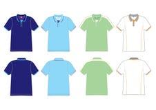 projekta polo koszula royalty ilustracja