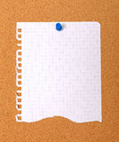 projekta pusty papier drzejący yout zdjęcia stock