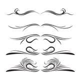 projekta różne elementów linie style Obrazy Royalty Free