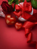 projekta rabatowy valentine Zdjęcia Stock