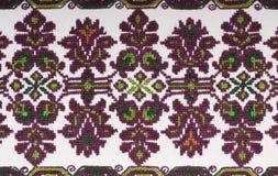 projekta rocznik hafciarski tekstylny Zdjęcia Royalty Free