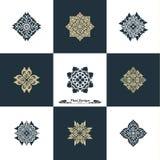 Projekta szablonu Luksusowy set Swash elementów sztuki rocznika Wektorowy St Zdjęcie Royalty Free