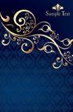 projekta szablonu rocznik Zdjęcia Royalty Free
